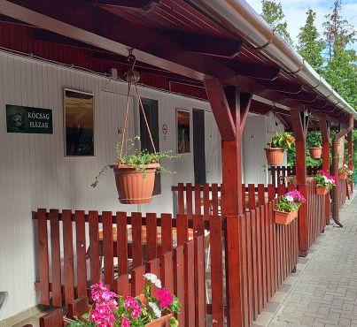 Kócsag házak - Pákász Tanya Kemping - Agárd, szállás, velencei-tó
